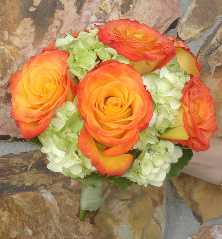 Bouquet of Circus Roses for Ringling Museum Wedding