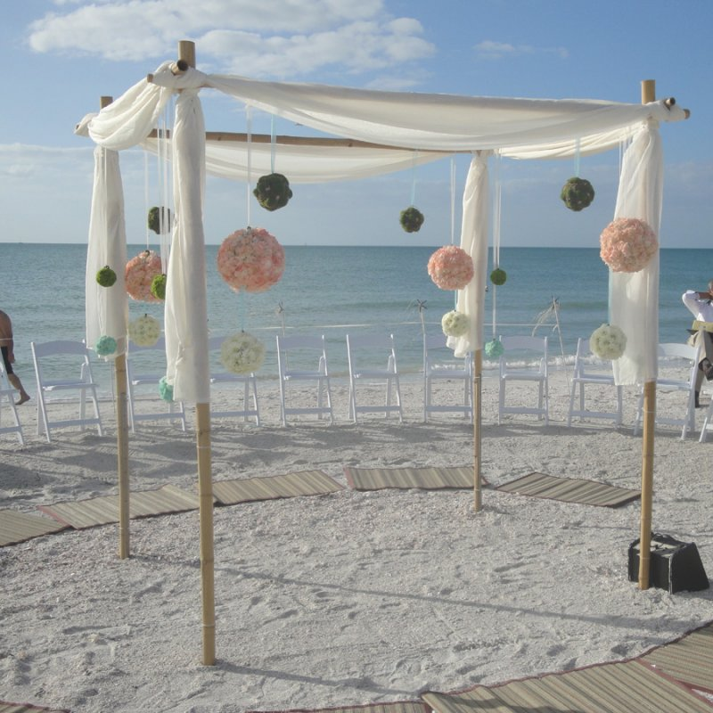 Canopy at St. Pete Beach Wedding
