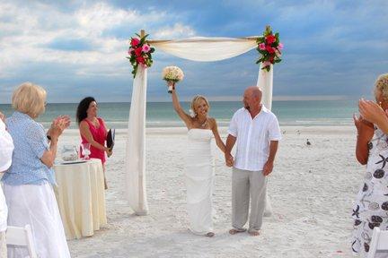 Wedding on Siesta Key Beach