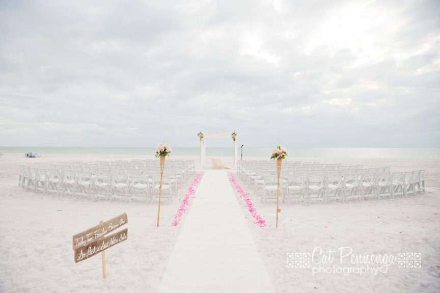 Longboat Key Beach Wedding