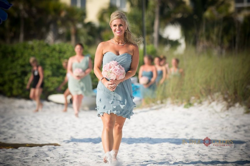 Sarasota Bridesmaid at Capri on Siesta Key