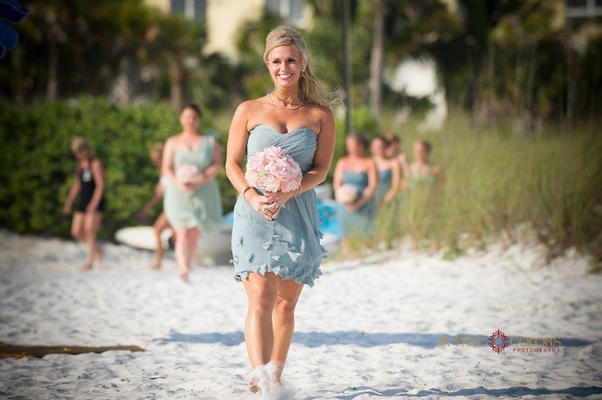 Sarasota Bridesmaid at Capri on Siesta Key