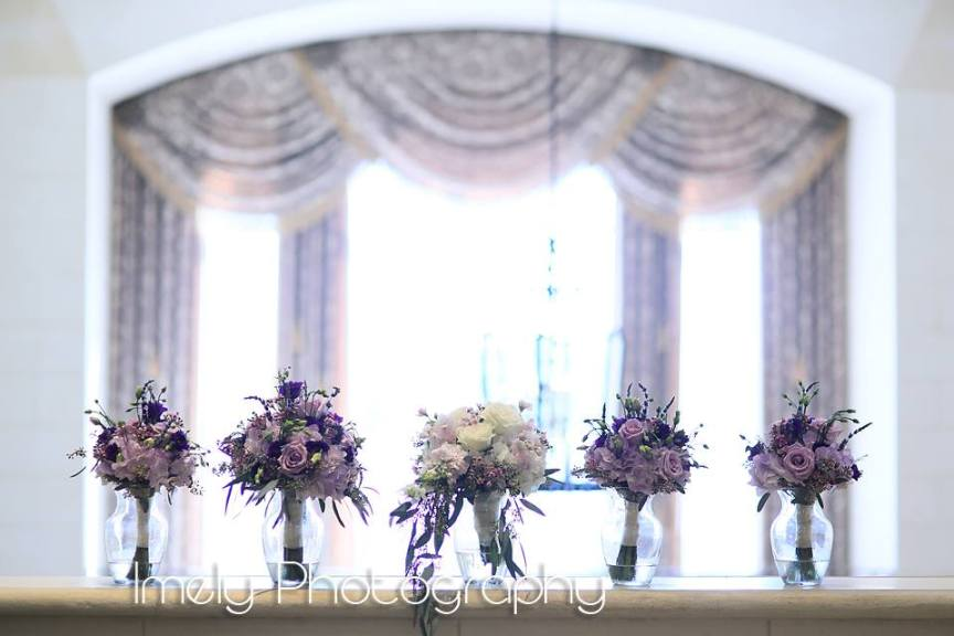 Pretty Purple Wedding at LWR