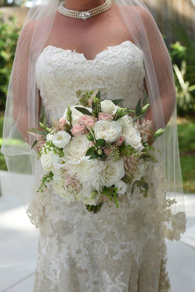 Garden Like Bridal Bouquet