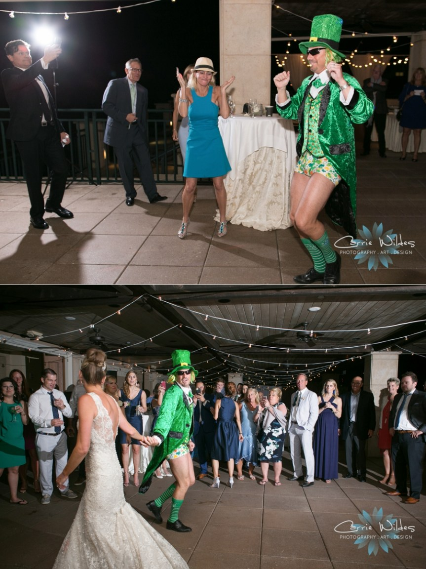 Wedding Guest Dress Up For St. Patrick's Day Wedding