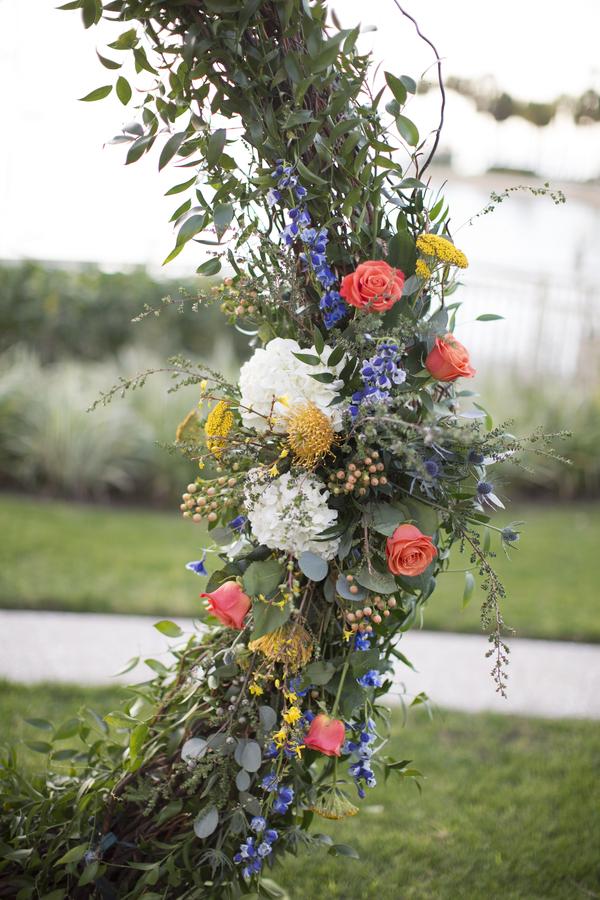 Close-Up of Wedding Arch