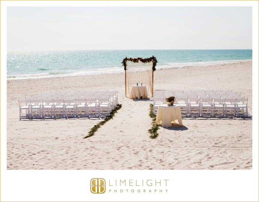 Tropical Wedding Theme Ceremony Site