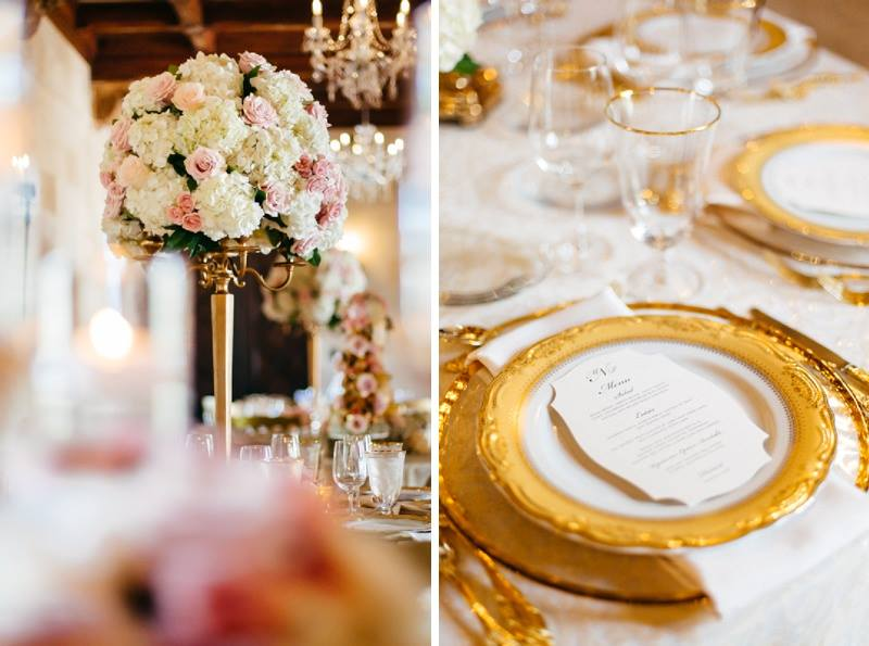 Table Centerpiece and Place Setting