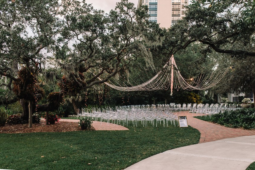 Wedding Site at Marie Selby Botanical Garden