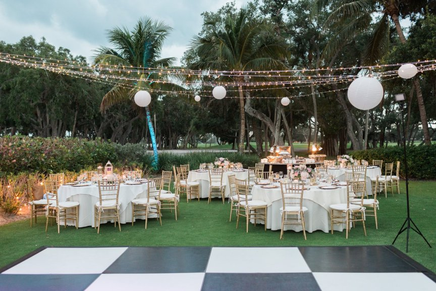 Reception Site with Dance floor