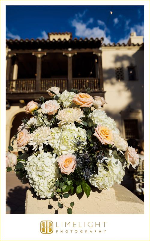 Back of Aisle Flower Arrangment