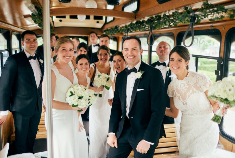 White and Cream Wedding