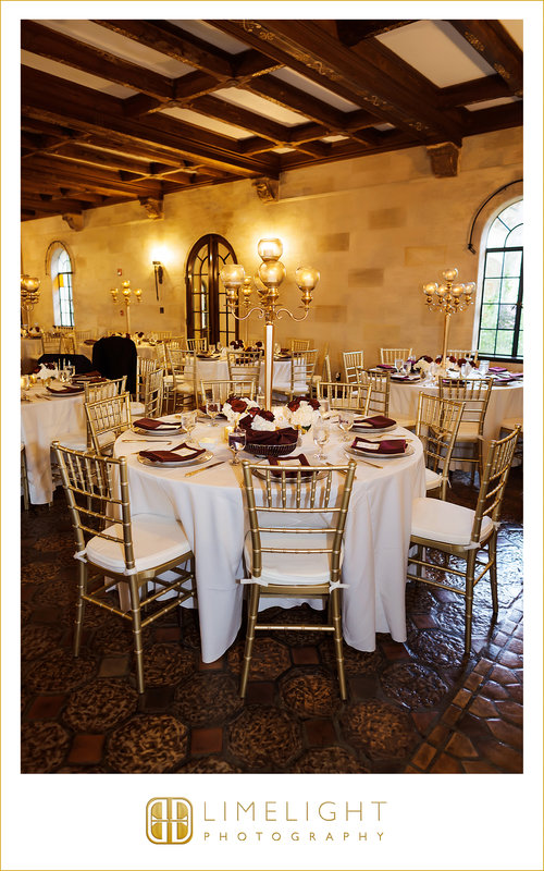 Guest Tables in Reception Area