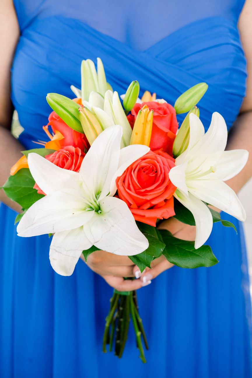 Colorful Bridesmaid's Bouquet