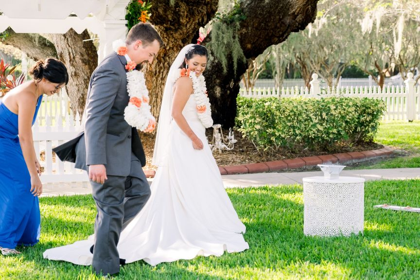 Indian Leis for Bride and Groom