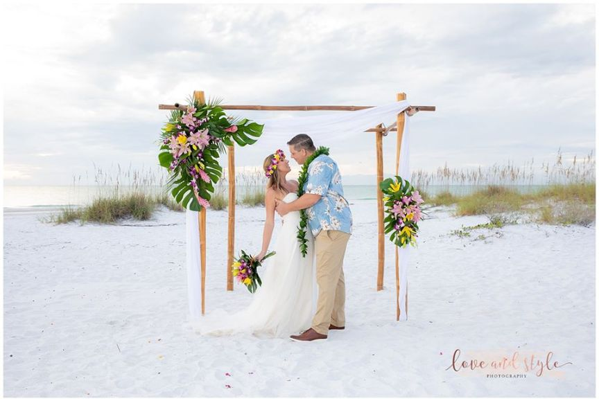 Beautiful Siesta Beach Wedding