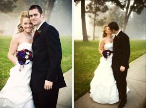San Clemente Wedding Bride and Groom