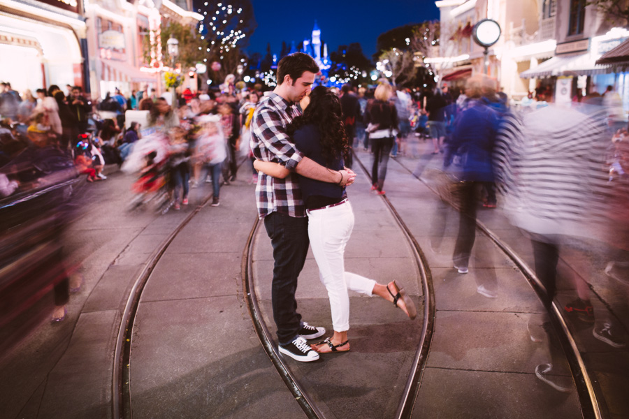 Disneyland engagement Photography  of