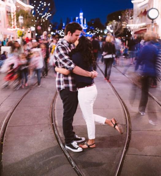 Disneyland engagement Photography  of