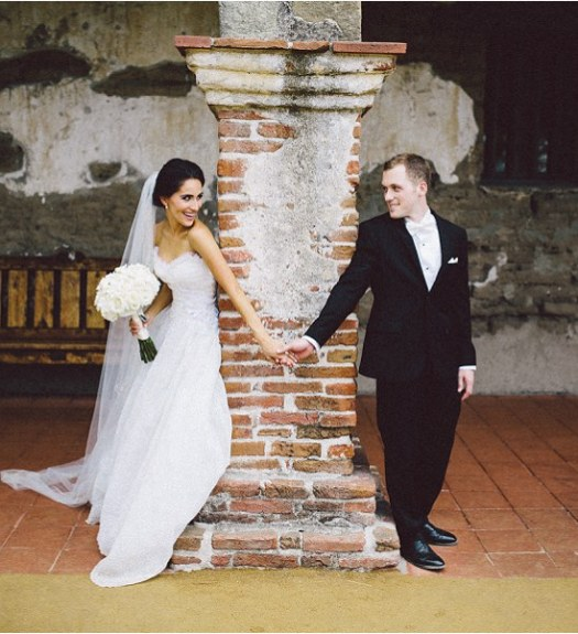 San Juan Capistrano Mission Wedding