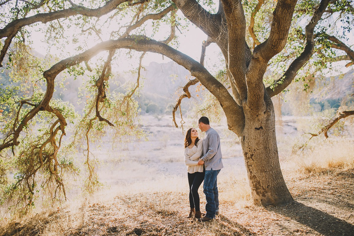 Malibu Creek Engagement Photography