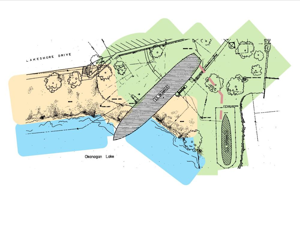 Plan and Map of the Heritage Park