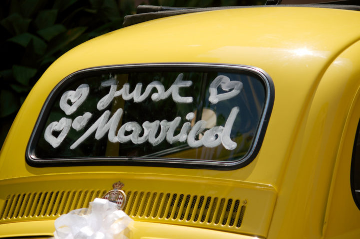 DIY Wedding Car Decoration Ideas See Fun Ways To