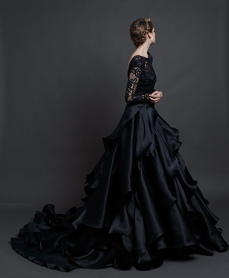 Black Wedding Gown - WeddingsAbroad.com - Wedding Expert Planner & Blogger