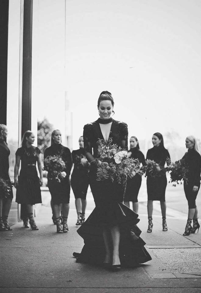 Black Wedding Gown- Signor Mont - WeddingsAbroad.com