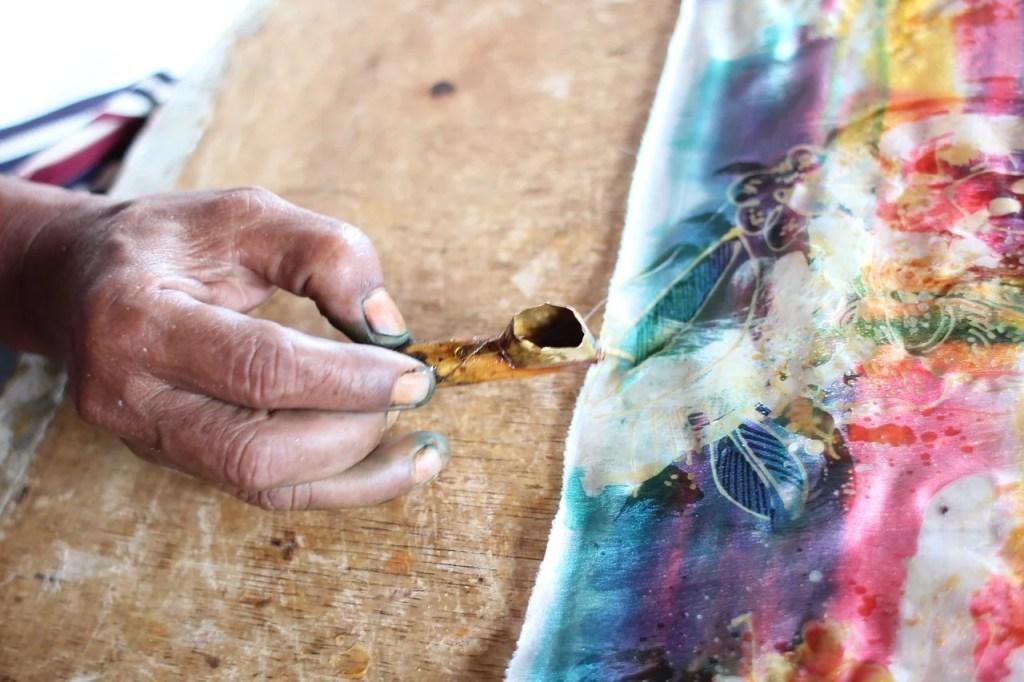 The Art of Batik, Yogyakarta, Indonesia