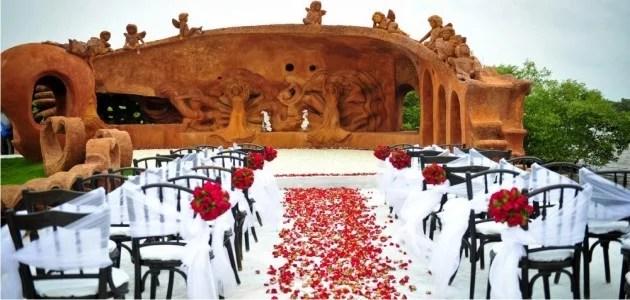 LPK Waterfront Destination Wedding Venue with various on site wedding locations Goa India