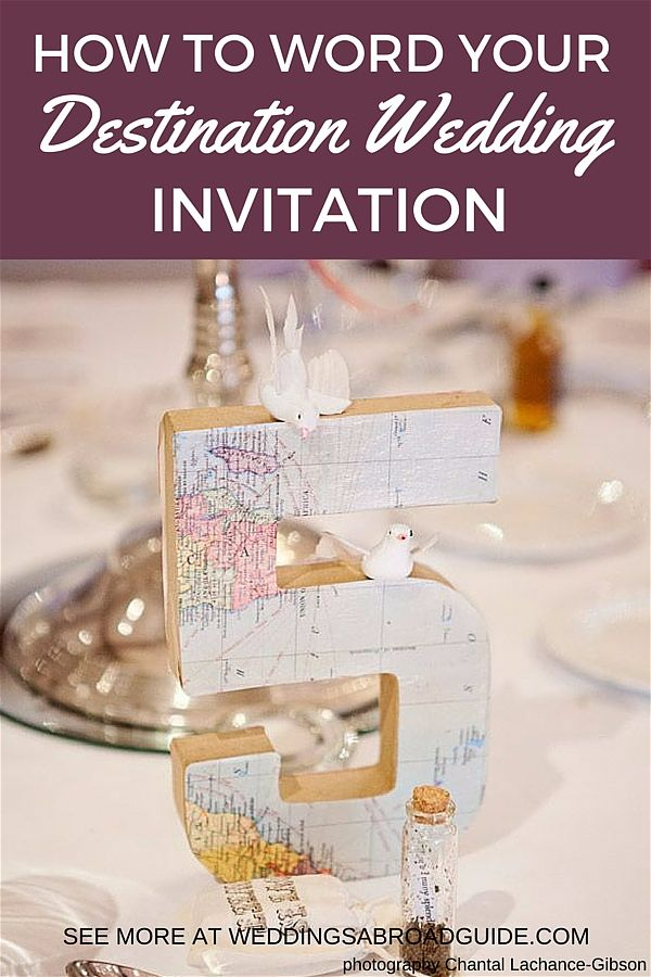 Example Wedding Invitation Letter