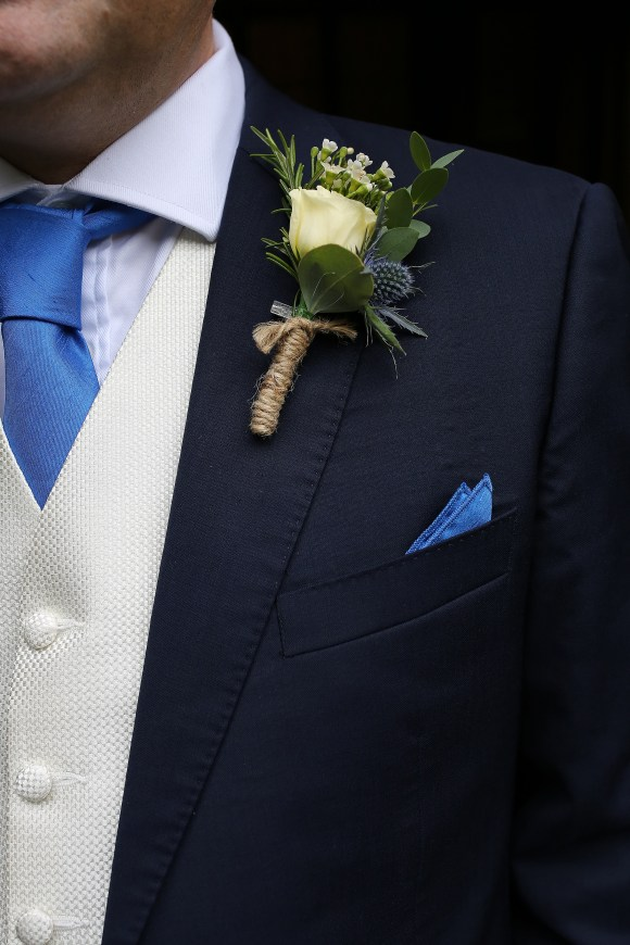 Groom Personal Flower, buttonhole.