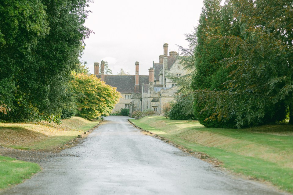 Driveway at Balcombe Place, starting the wedding planning journey