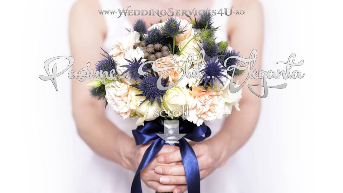 WeddingServices4U.ro Invitatii si Marturii pentru Nunta si Botez, Buchete Lumanari Aranjamente si Decoratiuni Forale Foto-Video-Audio