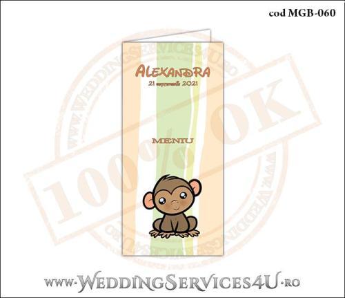 MGB-060 Meniu pentru Botez cu maimutica