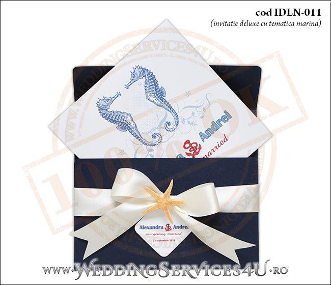 Invitatie_Deluxe_Nunta_IDLN-011-03-Tematica.Marina.cu.stea.de.mare.si.fundita