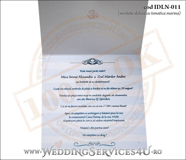 Invitatie_Deluxe_Nunta_IDLN-011-07-Tematica.Marina.cu.stea.de.mare.si.fundita
