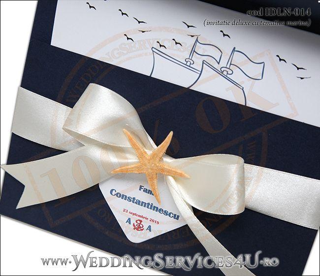 Invitatie_Deluxe_Nunta_IDLN-014-06-Tematica.Marina.cu.stea.de.mare.si.fundita