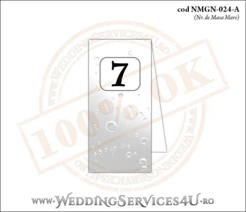 NMGN-024-A Numar de Masa pentru Nunta sau Botez cu tematica marina