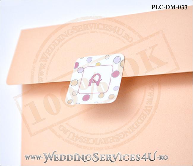 Plic Invitatie Nunta-Botez PLC-DM-033-2 Peach