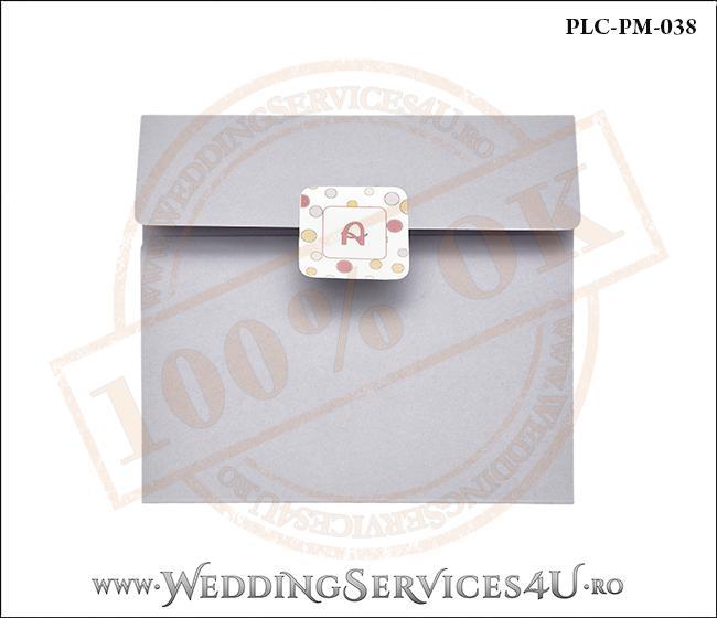 Plic Patrat Invitatie Nunta-Botez PLC-PM-038-1 Lila
