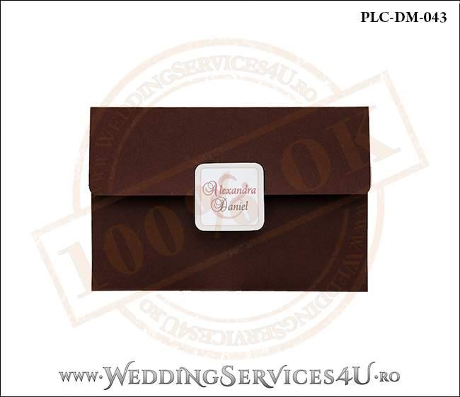 Plic Invitatie Nunta-Botez PLC-DM-043-01
