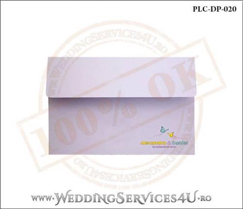 Plic Invitatie Nunta-Botez PLC-DP-020-01