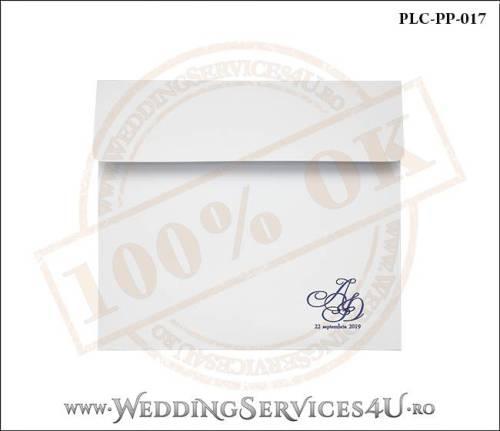 Plic Patrat Invitatie Nunta-Botez PLC-PP-017-01