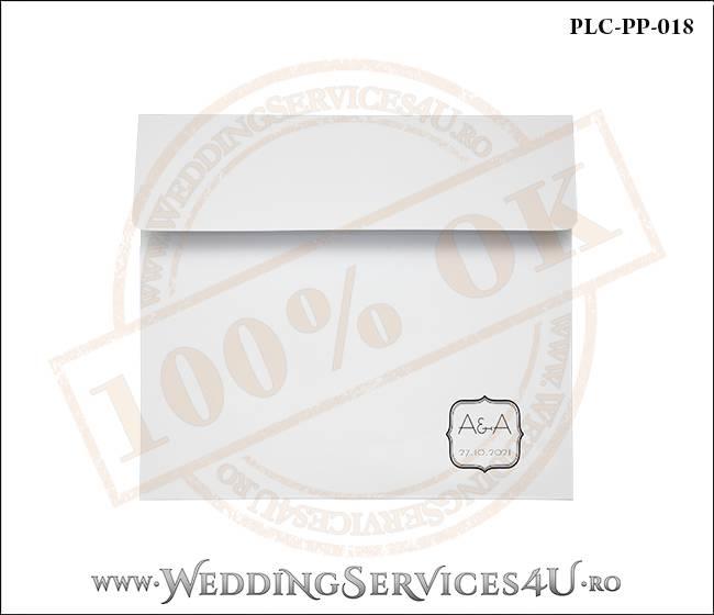 Plic Patrat Invitatie Nunta-Botez PLC-PP-018-01
