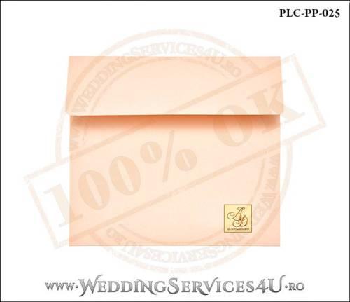 Plic Patrat Invitatie Nunta-Botez PLC-PP-025-01+