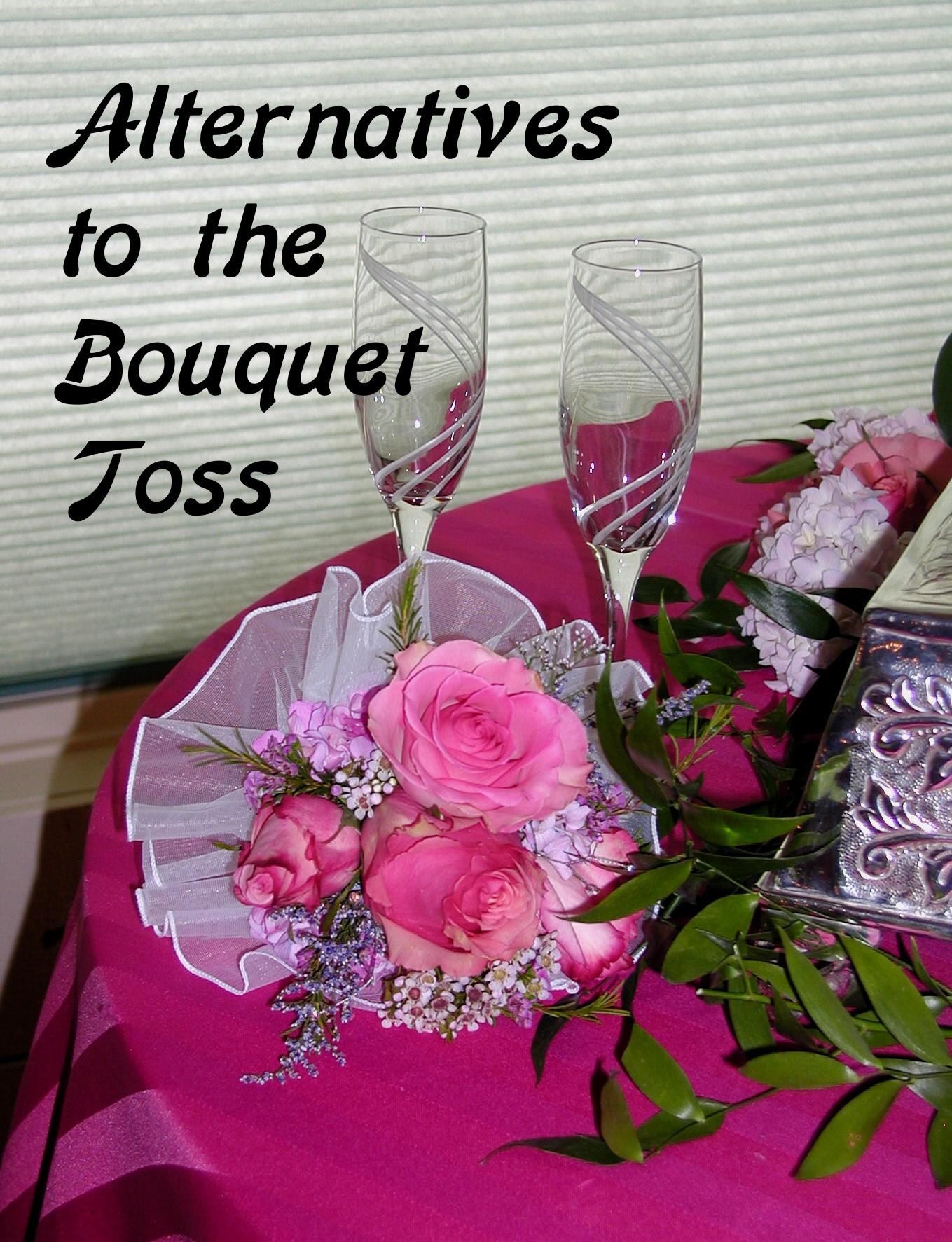 Bride & Groom Q & A - Bouquet Toss Alternatives   Weddings From The ...