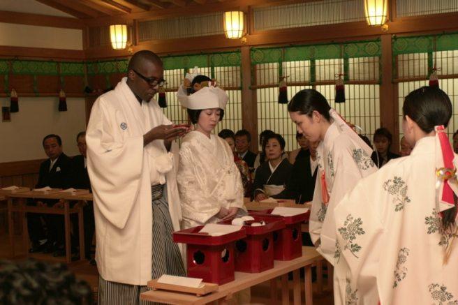 Japanese Shinto Ceremony