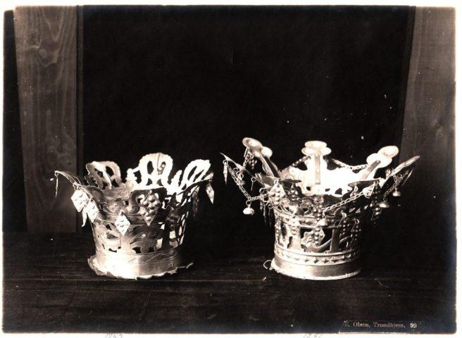 Norway Silver Wedding Crowns